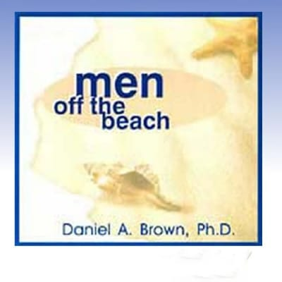 men off the beach