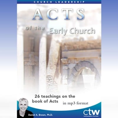 Acts of the Early Church (Book of Acts)
